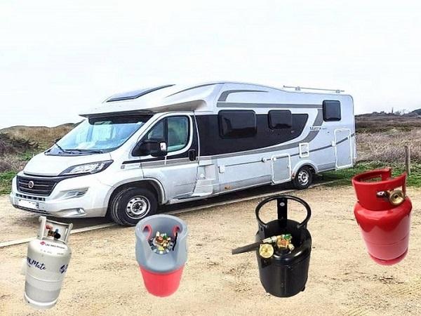 les bouteilles gaz pour camping cariste
